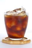 Café sólo del hielo fotografía de archivo