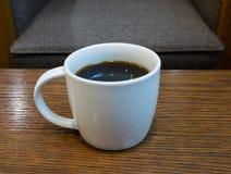 Café sólo en taza Fotos de archivo