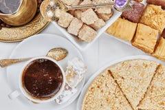 Café sólo turco tradicional fotos de archivo libres de regalías