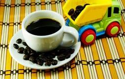 Café servido Imagem de Stock Royalty Free