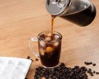 Café sobre el hielo Imagen de archivo