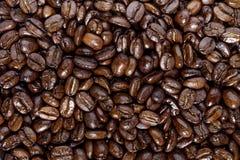 Café sur le fond en bois grunge image stock