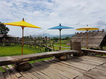 Café tailandês de Lue Foto de Stock