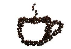 Café-taza foto de archivo