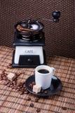 Café, taza de café express Fotografía de archivo libre de regalías