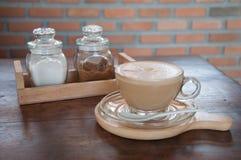 Café Taza del café con leche Fotografía de archivo