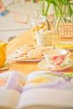 Café-temps le matin photo libre de droits