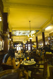Café Tortoni, Buenos Aires Foto de archivo libre de regalías