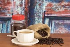 Café toujours de durée Image libre de droits