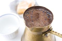 Café tradicional bosniano fotografia de stock