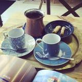 Café turc Photo libre de droits