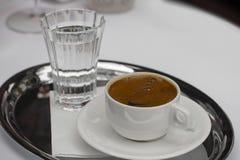 Café turc - image courante Images libres de droits