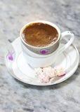 Café turco Foto de archivo