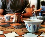Café turco Foto de Stock Royalty Free