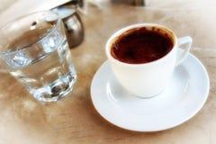 Café turco imagen de archivo libre de regalías