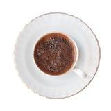 Café turco aislado Fotos de archivo