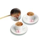 Café turco quente imagem de stock royalty free