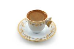 Café turco tradicional fotografia de stock royalty free