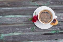 Café, un aliment soumis et boissons Photos libres de droits