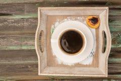 Café, un aliment soumis et boissons Image libre de droits