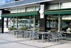 Café vazio fotografia de stock royalty free