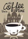 Café Venecia Fotos de archivo