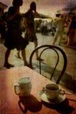 Café Veneza imagens de stock