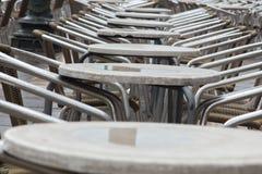 Café vide à Venise Photo libre de droits