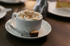Café vienense Imagem de Stock Royalty Free