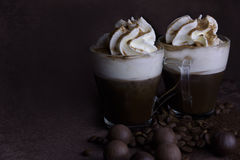 Café vienense Imagens de Stock Royalty Free
