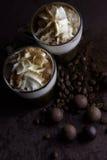Café viennois Images stock