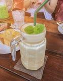 Café, vuelta del menú de la bebida del café express con hielo imagen de archivo libre de regalías