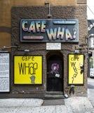 Café Wha Lizenzfreie Stockbilder