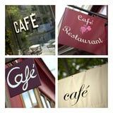 Café y bistros Imagen de archivo