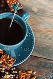 Café y chocolates Fotos de archivo libres de regalías