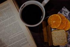 Café y cinamomo Fotografía de archivo