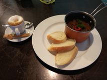 Café y cocido húngaro Foto de archivo libre de regalías