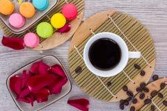 Café y granos de café Imagenes de archivo