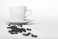 Café y habas Fotografía de archivo