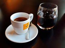 Café y jugo Imagen de archivo libre de regalías