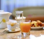 Café y jugo Fotos de archivo