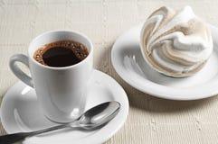 Café y melcocha Fotografía de archivo
