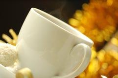 Café y regalo Foto de archivo