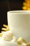 Café y regalo Fotos de archivo