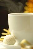 Café y regalo Imágenes de archivo libres de regalías