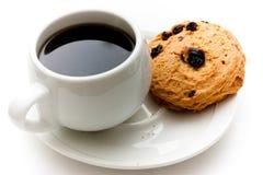 Café y scones Foto de archivo