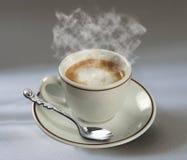 Café y spon foto de archivo
