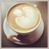Café y un caramelo Fotografía de archivo