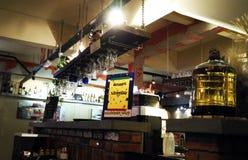 Café-Zähler Stockfoto