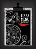Cafémenü-Restaurantbroschüre Lebensmitteldesignschablone Lizenzfreie Stockfotografie